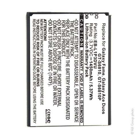 samsung galaxy fame mobile phone mobile phone pda battery for samsung galaxy fame