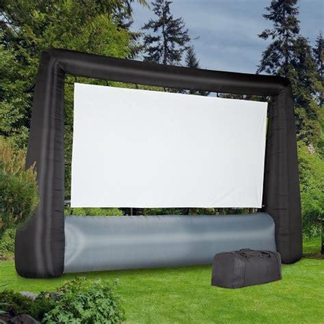 backyard screens outdoor inflatable movie screen birando com