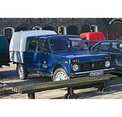 Russian Lada Niva 2348 Pickup Qtr