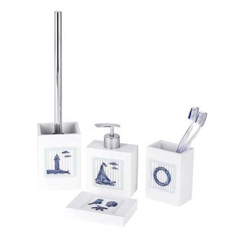 wenko bathroom accessories wenko nautic bathroom accessories set from