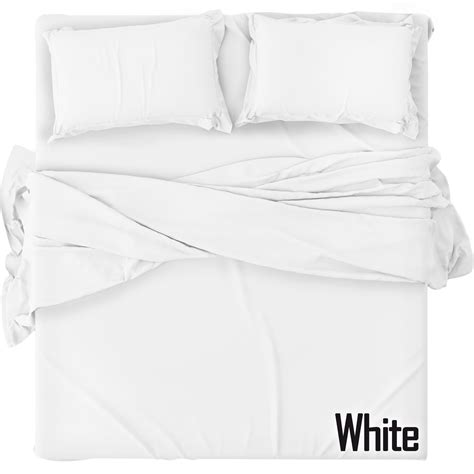 best white sheets plain fitted bed sheets dyed 100 polycotton single double