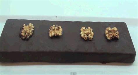 turron de chocolate con nueces casero receta de turr 243 n de chocolate con nueces