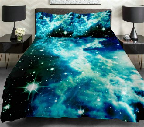 galaxy bedroom furniture sky design space galaxy nebula stars night sky clouds