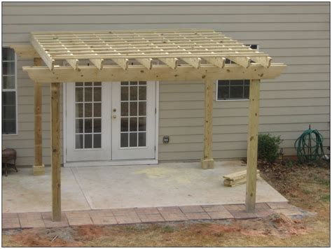 pergola design ideas 12 x 12 pergola simple white and
