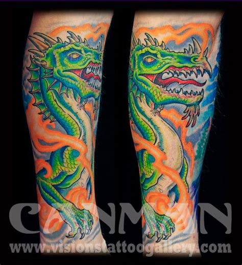 visions tattoo by canman by canman tattoos