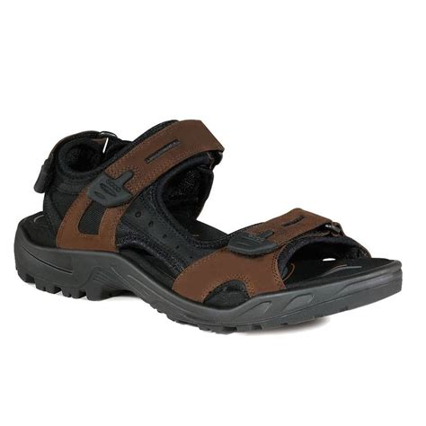 ecco sandals mens ecco mens yucatan outdoor sandals