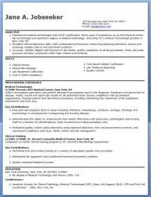 medical technologist resume example resume downloads
