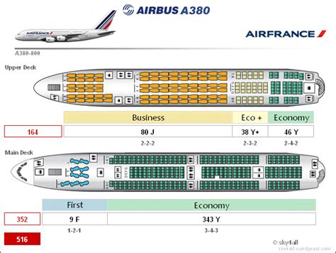 airbus a380 floor plan image gallery korean air a380 layout