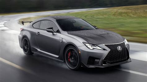 lexus rcf 2020 check out the 2020 lexus rc f and rc f track edition
