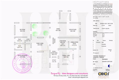 ground floor plan drawing elevation floor plan and isometric plan by oikos