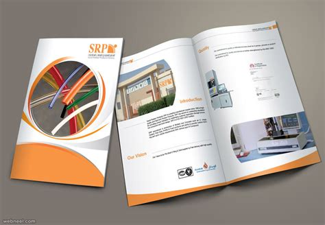 Bathroom Layout Designs 25 best brochure design examples and ideas for your