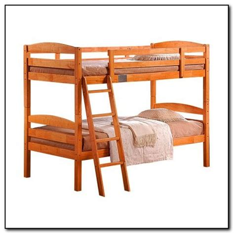 wood bunk beds with desk beds home design ideas