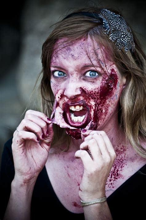 totally creepy halloween makeup ideas