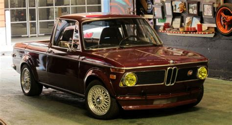 bmw 1602 converted into a six cylinder sports truck