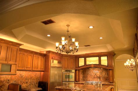 Octagon Tray Ceiling Ultra Custom Kitchen