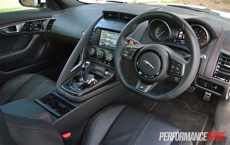 Jaguar F Type R Interior by 2015 Jaguar F Type R Coupe Review Performancedrive