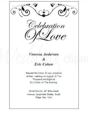 formal invitation cards templates free printable poetic invitation template