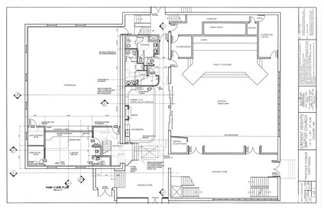 floor plan drawing rod crocker 187 institutional