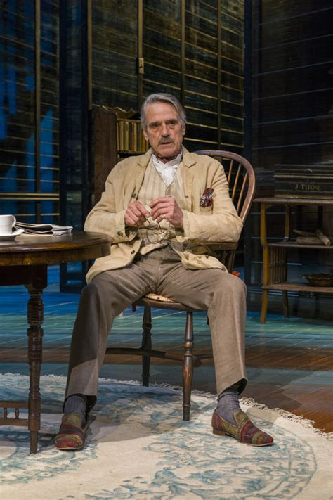 rare nyc stage appearance jeremy irons