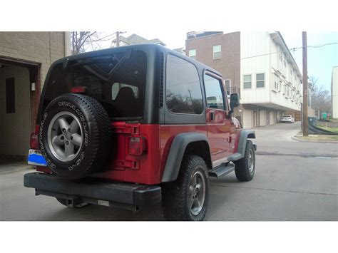 used jeep wrangler dallas tx used 1999 jeep wrangler for sale by owner in dallas tx 75398