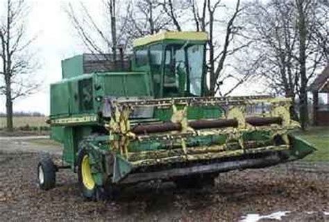 Used Farm Tractors For Sale John Deere 4400 Combine 2005