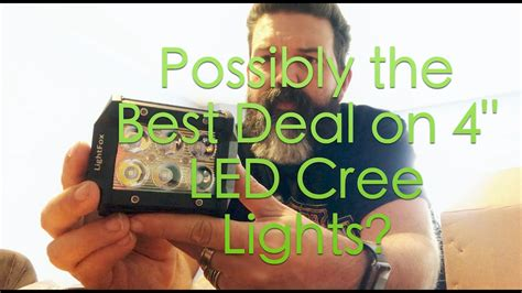 best deal on led lights possibly the best deal on led lights lightfox 18w 4 quot led