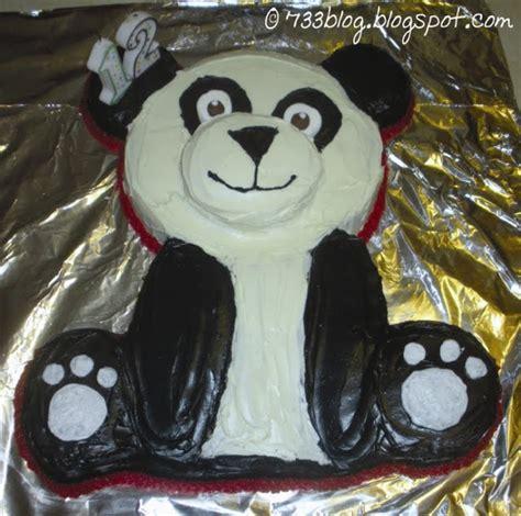 panda cake template panda cake
