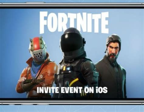 when fortnite coming out for android fortnite mobile sign up countdown epic ios release