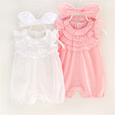 Baby Dress Cotton 1 baby clothes cotton baby clothes 2017 summer infant dress jumpsuits costume for