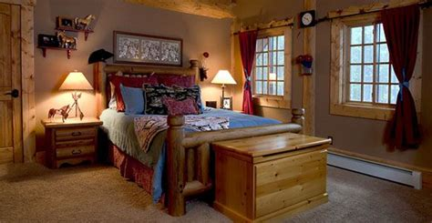 simple country western bedroom master bedroom ideas