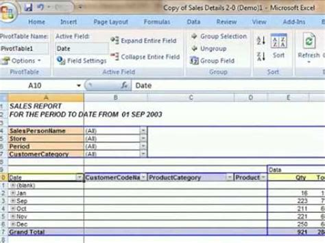 change given date format php excel tip changing the date format in a pivottable the bi