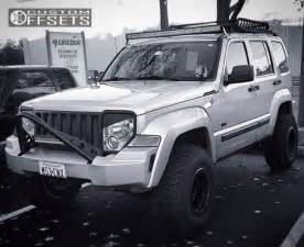 2009 Jeep Liberty Lifted Wheel Offset 2009 Jeep Liberty Aggressive 3 5