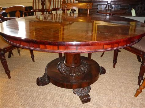 William Iv Dining Table William Iv Rosewood Dining Table Antiques Atlas
