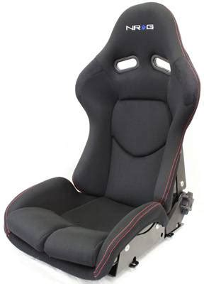 nrg reclinable bucket seats nrg innovations frp reclinable bucket seats