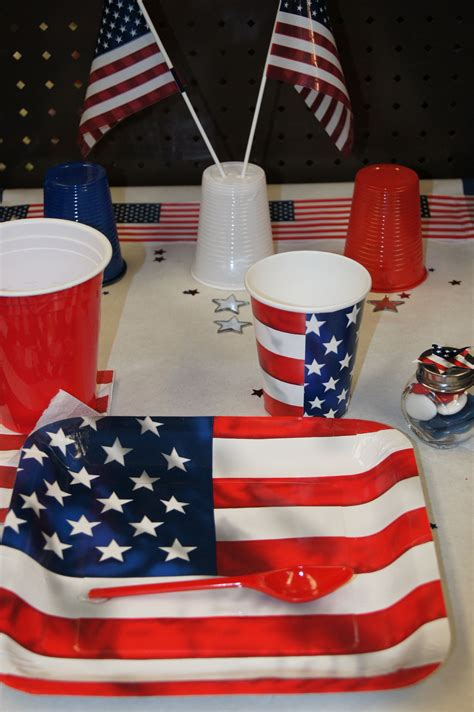Deco De Table Americaine by Decoration Table Usa