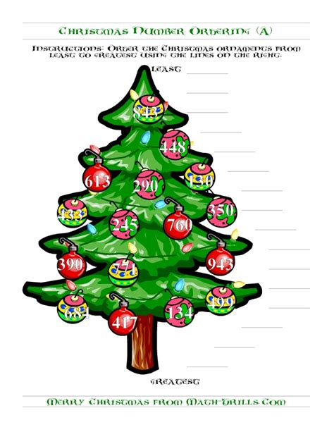 christmas tree stumper math 17 solution 17 best images about math comparing numbers on math songs math and