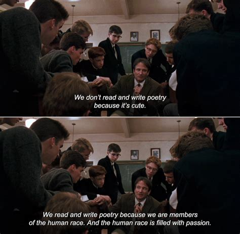 dead poets society quotes we dont read and write poetry dead poets society quotes