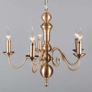 lampara de arana  dutch  bronce lamparas colgantes