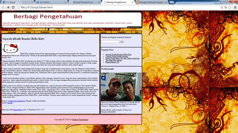 membuat halaman website dengan html membuat halaman web dengan html berbagi pengetahuan