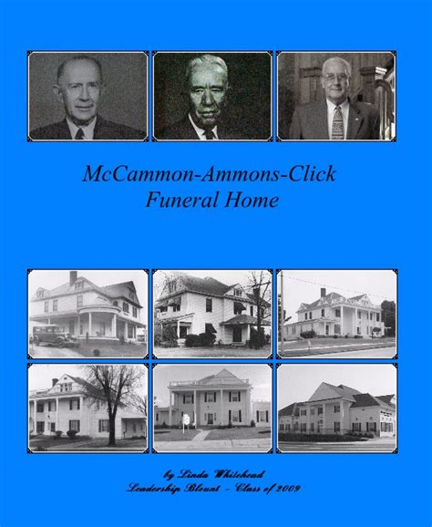 mccammon ammons click funeral home by whitehead