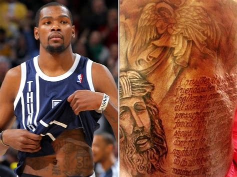 kevin durant tattoo kevin durant s back is finished may include