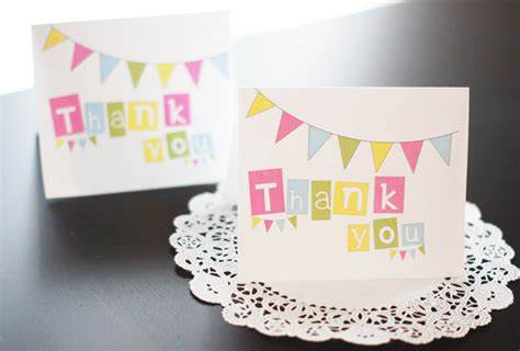 Thank You For Gift Card Sle - free printable thank you cards bake sale flyers free flyer designs
