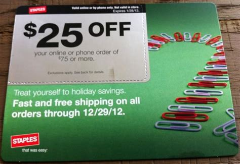 Use Staples Gift Card Online - free 25 gift card at staples and 175 ultimate reward points with 25 off coupon