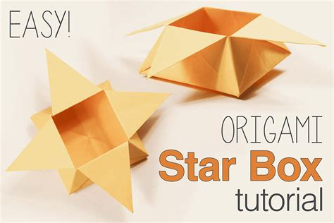 Traditional Origami Box - how to make a traditional origami box