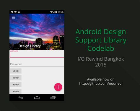 android libraries nuuneoi lab android designlibrary by nuuneoi repository devhub io