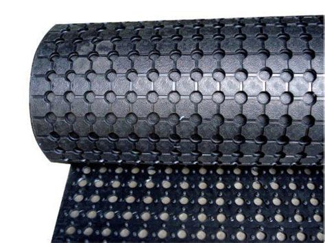 Rubber Matting For Utes by Drainable Ring Matting Roll Anti Slip Matting