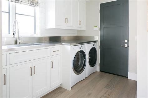 Laundry Countertops by Laundry Room Stainless Steel Countertops Transitional