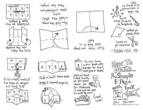 zine template 17 best images about ideas on how to make