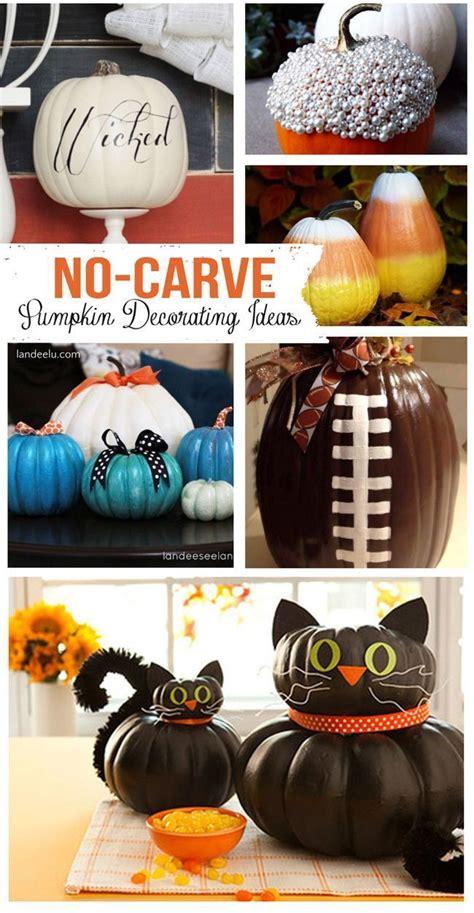 ideas  pumpkin decorations  pinterest