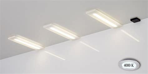 led unterbauleuchte modernes licht gmbh led einbau unterbauleuchten